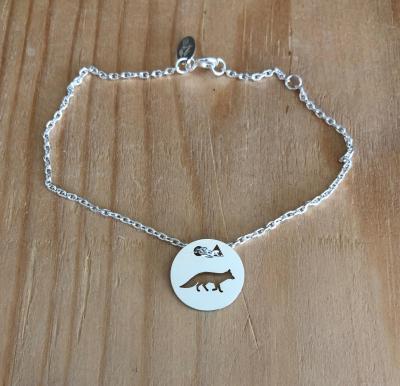 Token's - Bracelet chaine - Renard