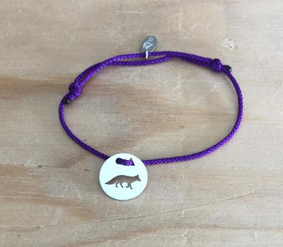 Token's - Bracelet cordon - Renard