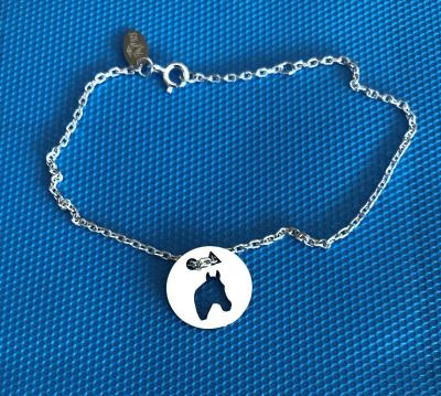 Token's - Bracelet chaine - Tête de cheval