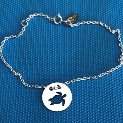 Token's - Bracelet chaine - Tortue