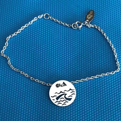 Token's - Bracelet chaine - Vague