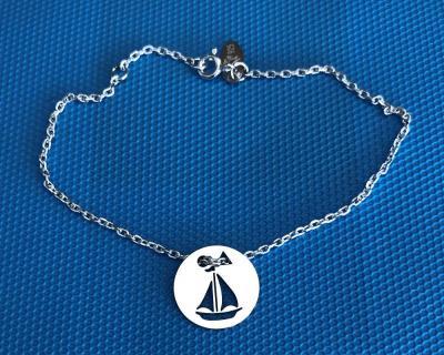 Token's - Bracelet chaine - Voilier